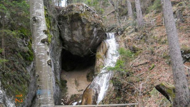 "Naturdenkmal ""Tiefenbachfall"", Miesenbach"